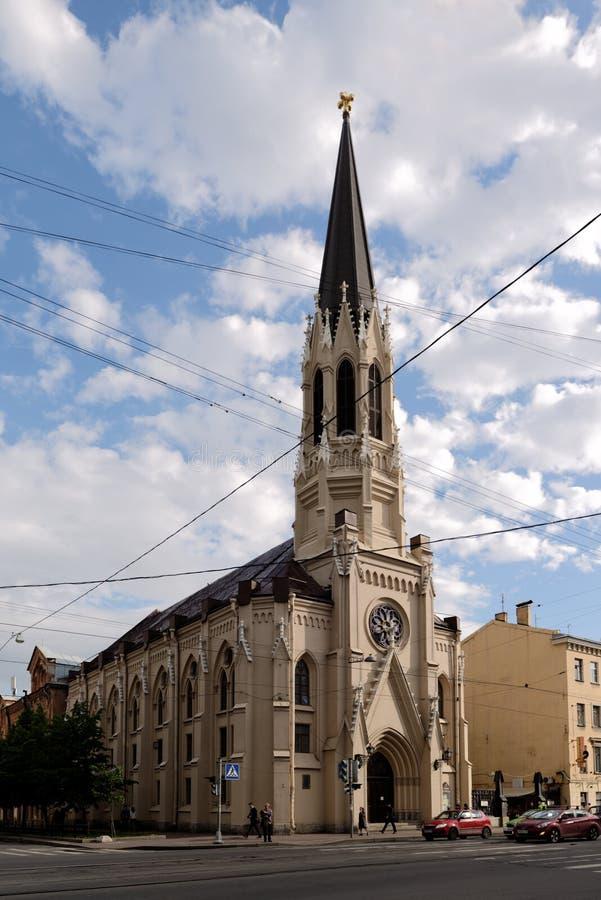 St Michaels大教堂在圣彼德堡,俄罗斯 库存照片