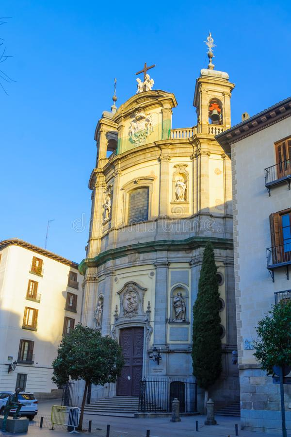 St Michaels大教堂,在马德里 库存图片