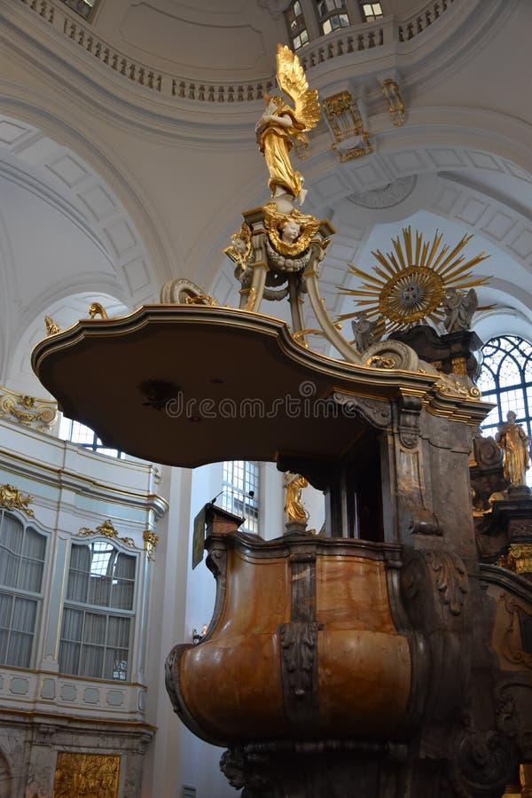 St Michaels教会在汉堡,德国 免版税图库摄影