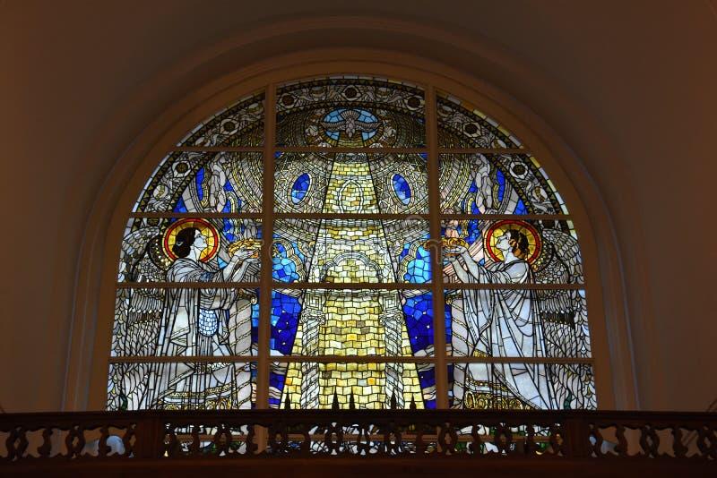 St Michaels教会在汉堡,德国 免版税库存图片