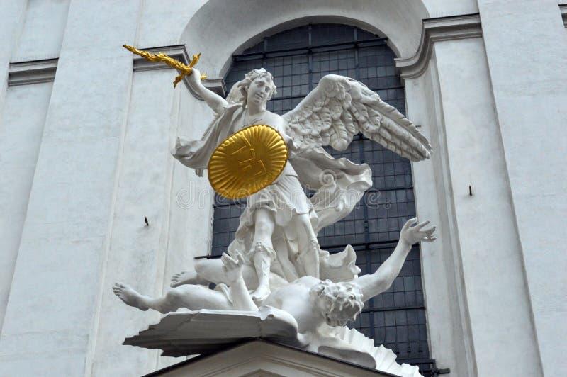 St Michaels教会维也纳奥地利 免版税库存照片