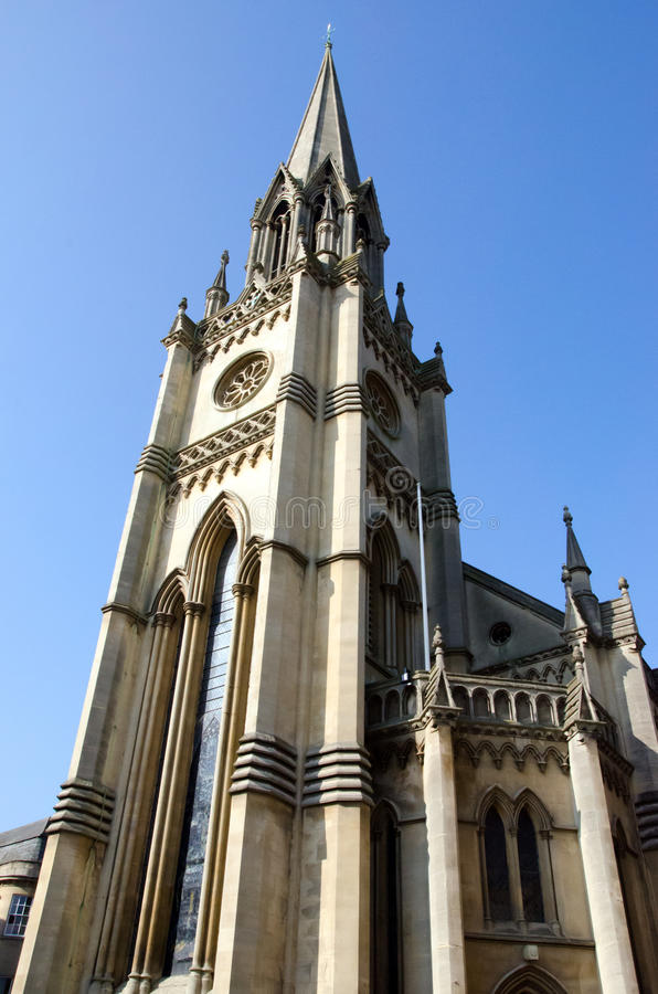 St Michaels教会,巴恩英国英国 图库摄影