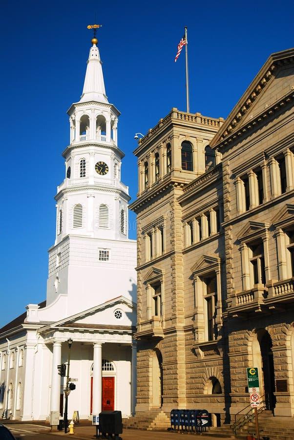 St Michaels, Charleston imagens de stock