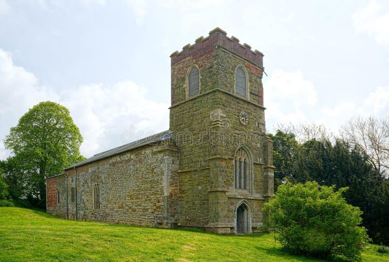 St Michaels Church, Burwell, Lincolnshire Reino Unido foto de stock