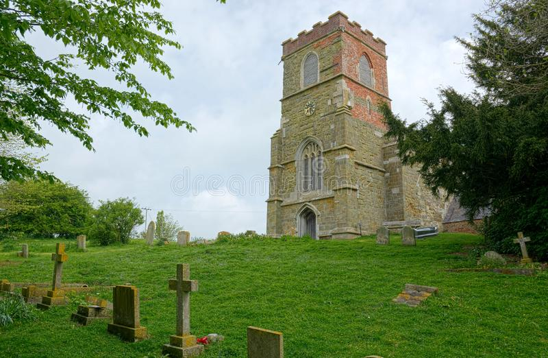 St Michaels Church, Burwell, Lincolnshire Reino Unido imagem de stock