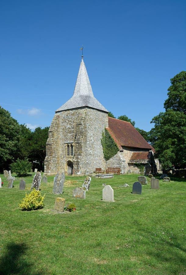 St Michaels Church, Plumpton, le Sussex LE R-U image stock