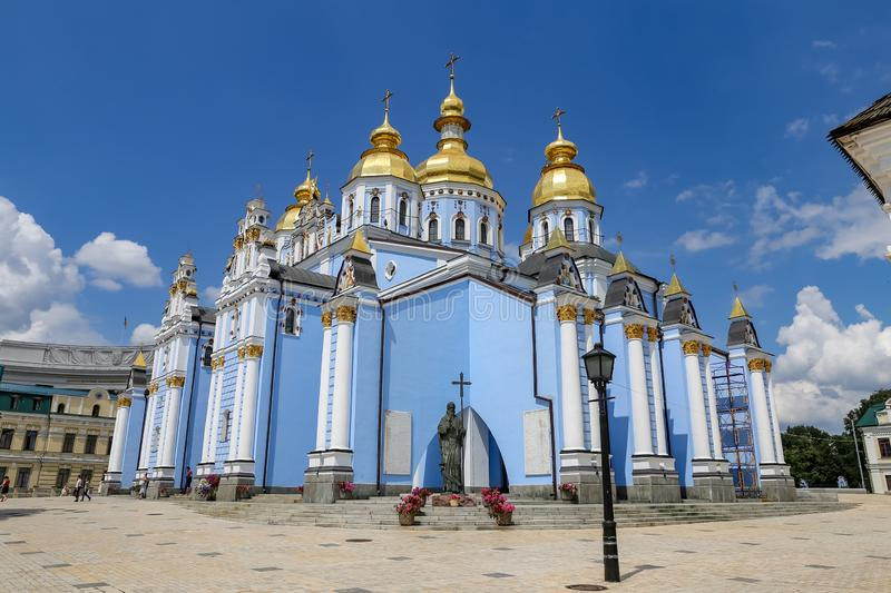 St Michaels Golden Domed Monastery en Kiev, Ucrania fotos de archivo