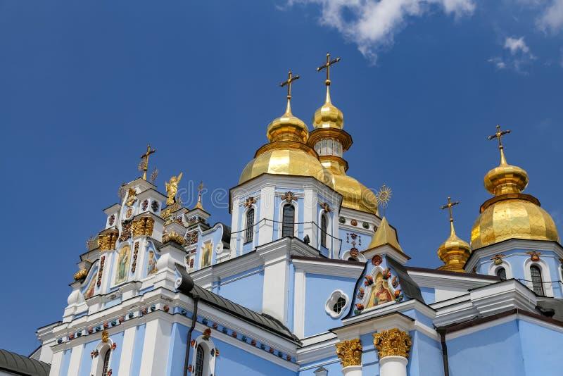 St Michaels Golden Domed Monastery a Kiev, Ucraina immagine stock