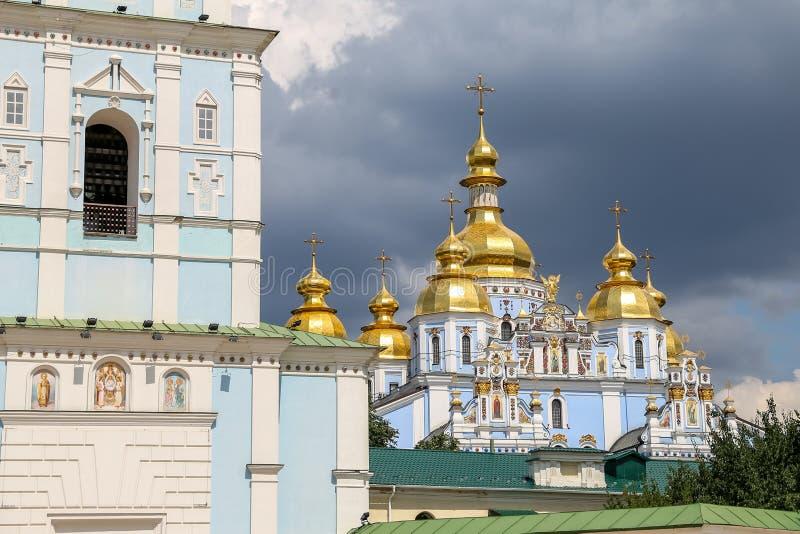 St Michaels Golden Domed Monastery a Kiev, Ucraina fotografia stock