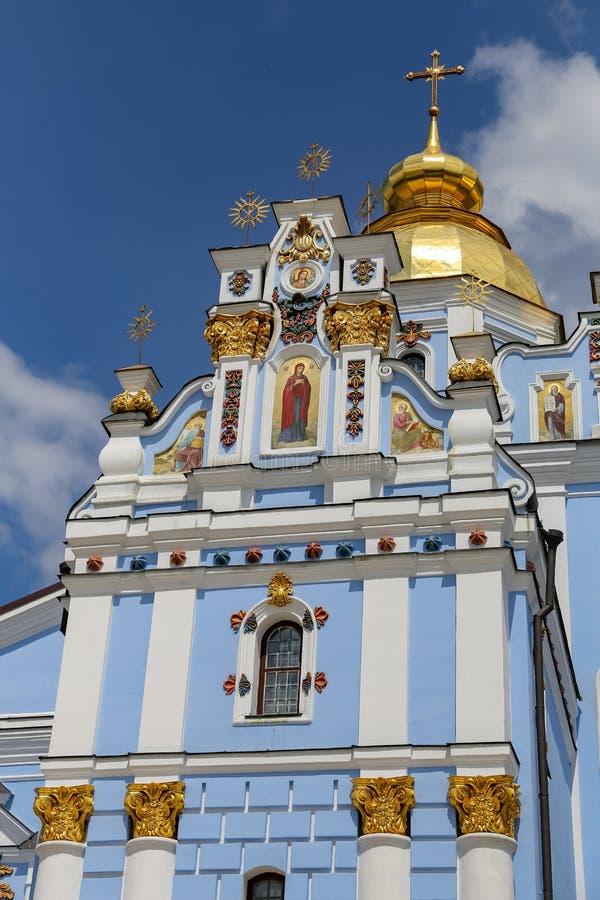 St Michaels Golden Domed Monastery a Kiev, Ucraina immagini stock libere da diritti