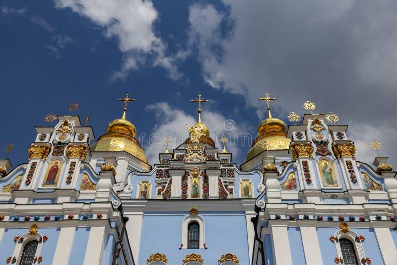 St Michaels Golden Domed Monastery a Kiev, Ucraina immagine stock libera da diritti