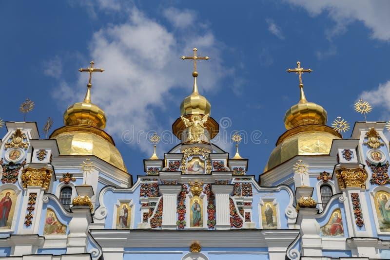 St Michaels Golden Domed Monastery a Kiev, Ucraina immagini stock