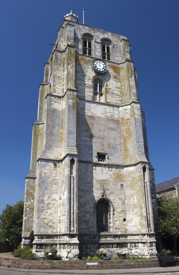 St Michaels kościół, Beccles, Suffolk, Anglia zdjęcie royalty free