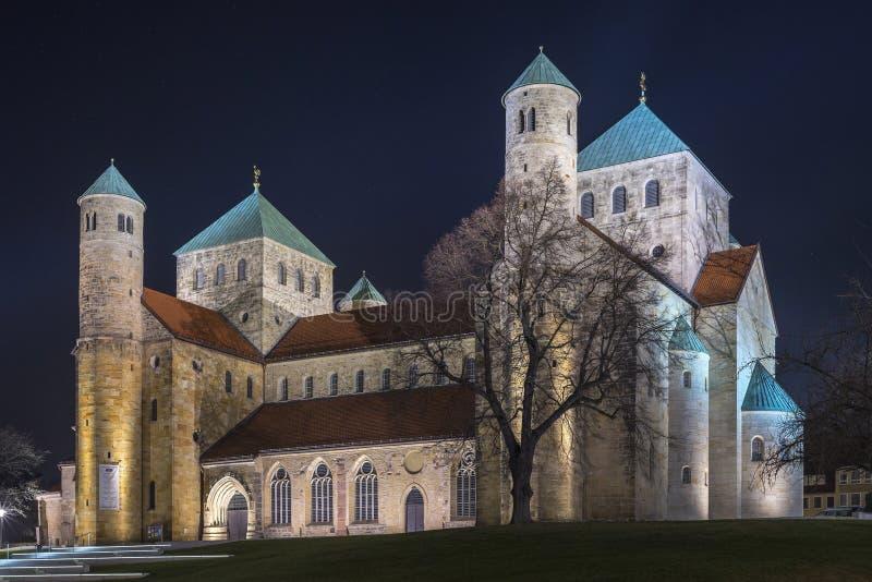 St Michaels kościół w Hildesheim zdjęcie royalty free