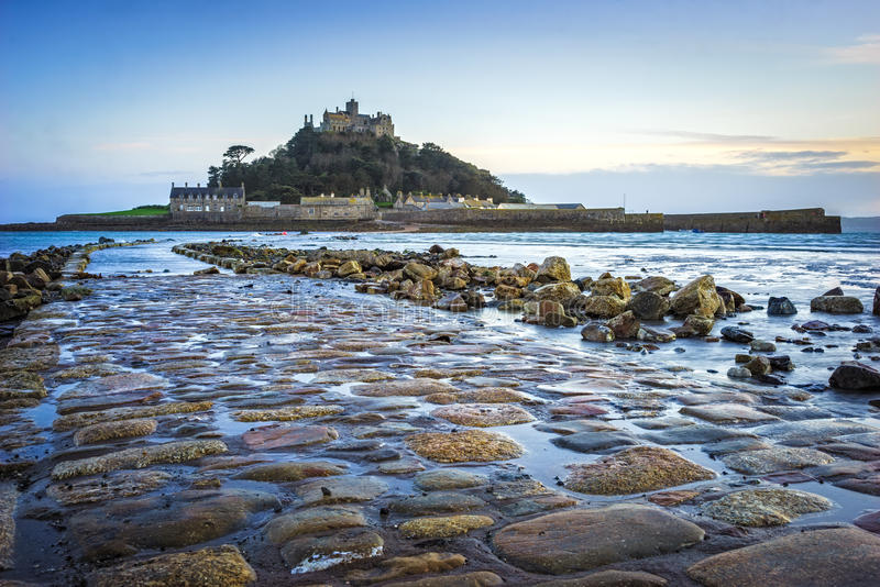 St Michaels Mount Cornwall royalty-vrije stock fotografie