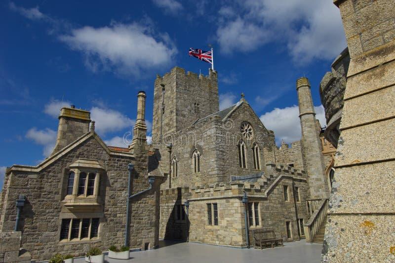 St Michaels Mount Cornwall photo libre de droits