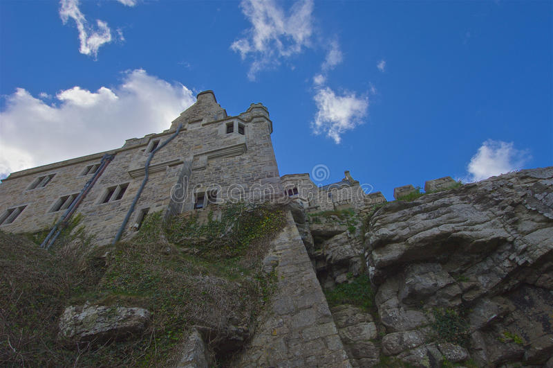 St Michaels Mount Cornwall images libres de droits