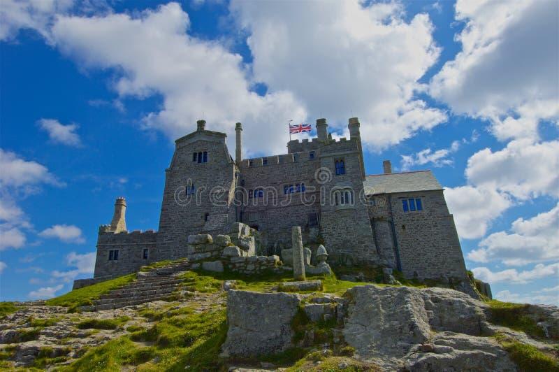 St. Michaels Mount Cornwall lizenzfreies stockfoto
