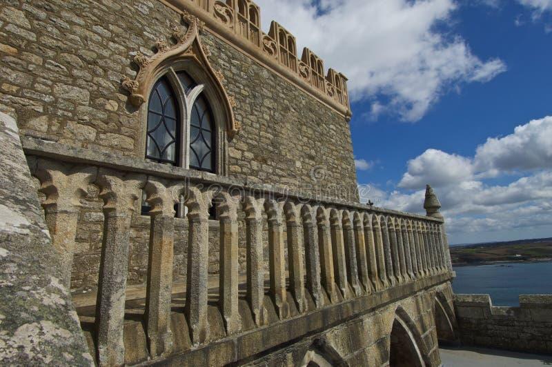 St. Michaels Mount Cornwall stockfotos