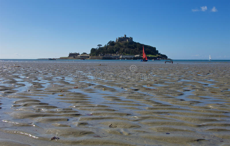 St Michaels Mount Cornwall images stock