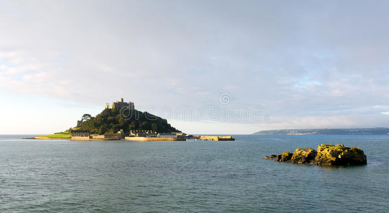 St Michaels Mount Cornwall England royalty-vrije stock foto