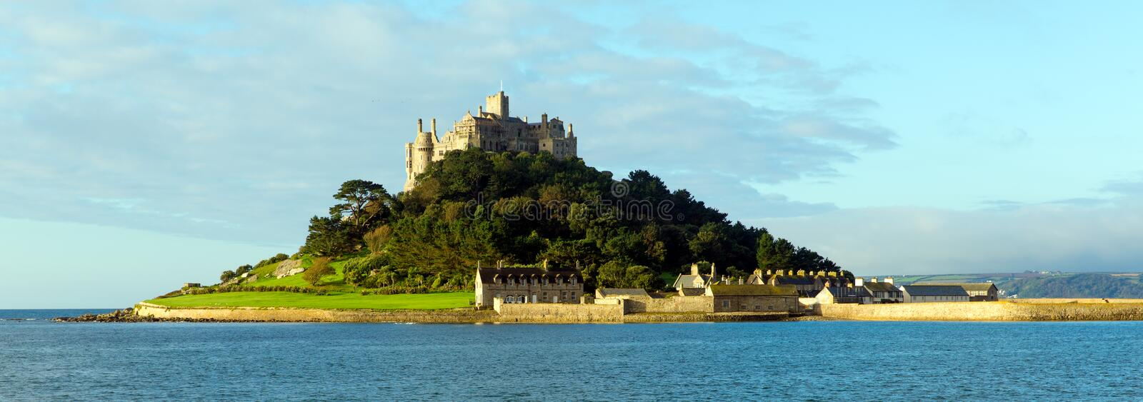 St Michaels Mount Marazion Cornwall England photos libres de droits