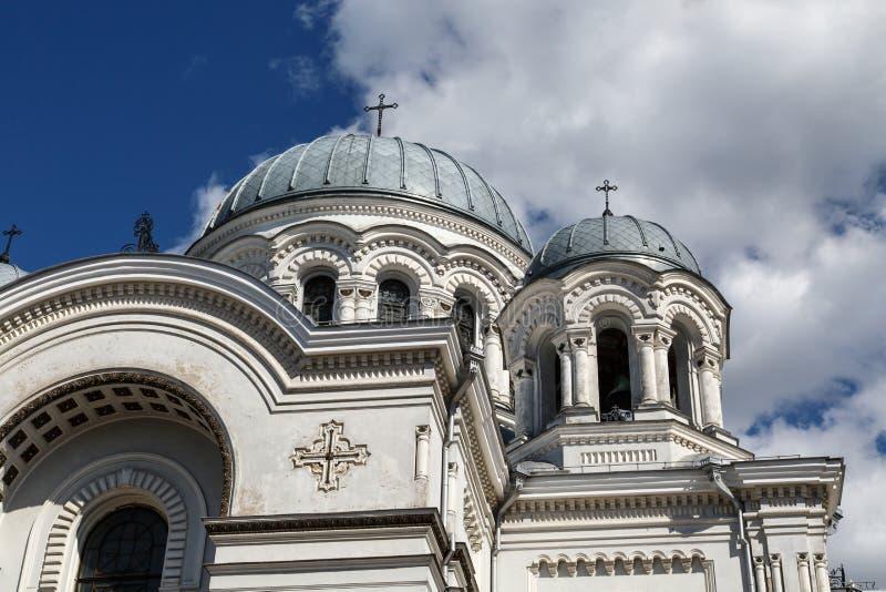 St Micheal archanioła kościół, Kaunas obrazy stock