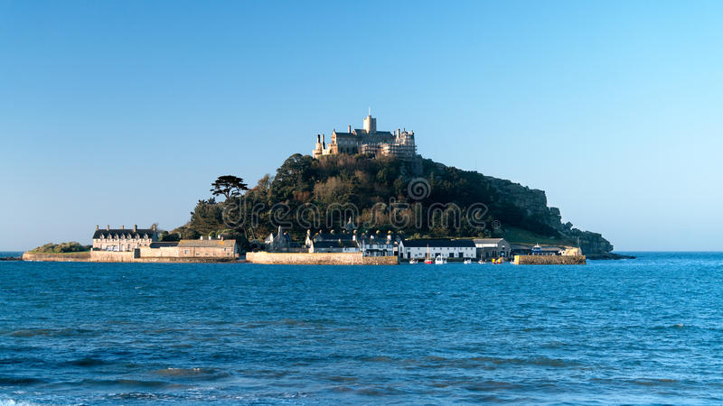 St. Micheal's Mount, Cornwall royalty free stock photo
