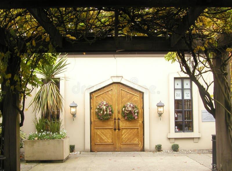 Download St. Michelle Van Chateau Wijnmakerij Stock Foto - Afbeelding: 46814