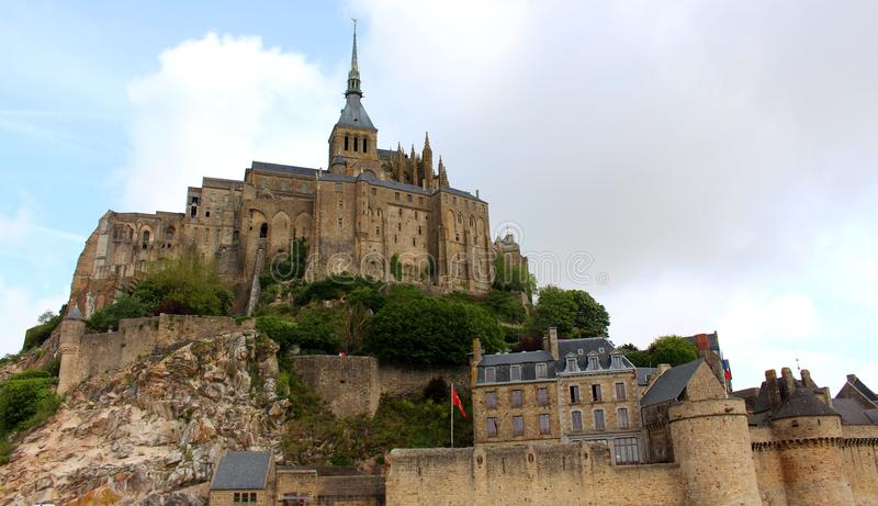 St Miguel de Mont fotos de archivo libres de regalías