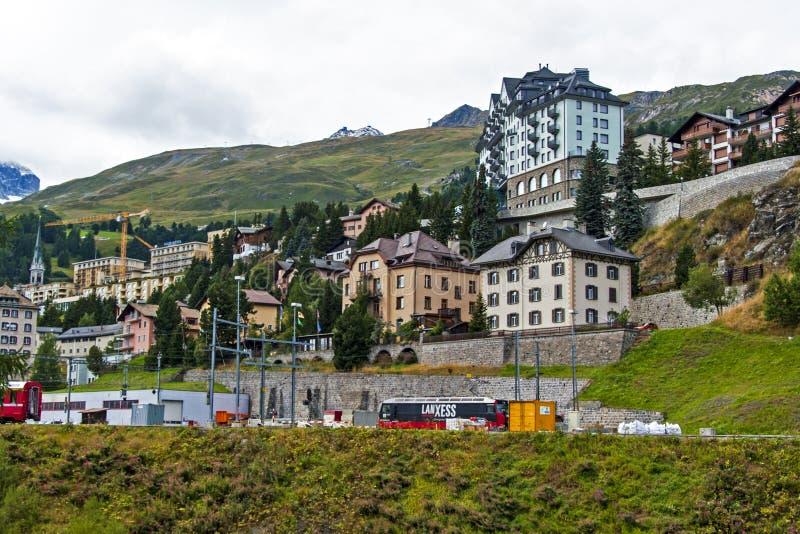 St Moritz, Швейцария стоковое фото rf