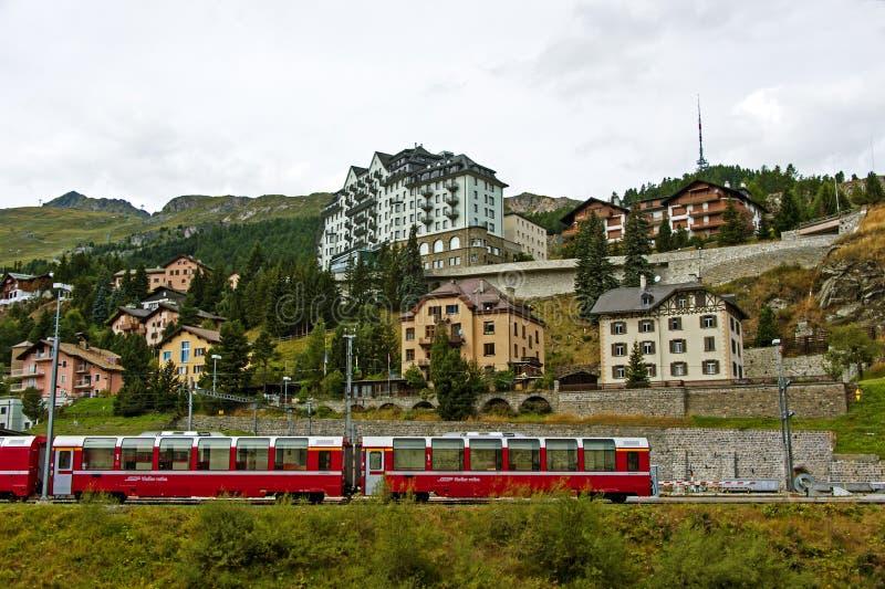 St Moritz, Швейцария стоковые фотографии rf