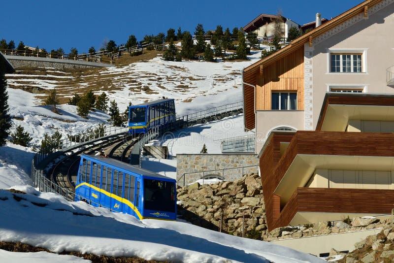 St Moritz image libre de droits