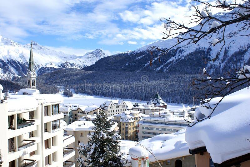 St Moritz immagini stock