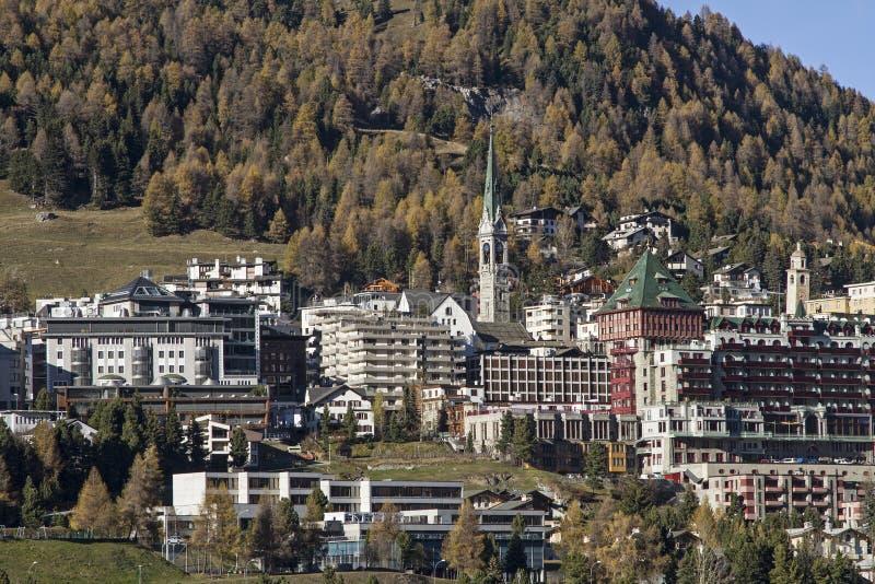 St. Moritz royalty free stock image