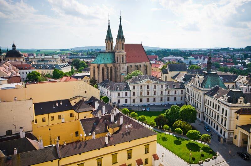 St. Moritz katedra w Kromeriz, republika czech obrazy stock