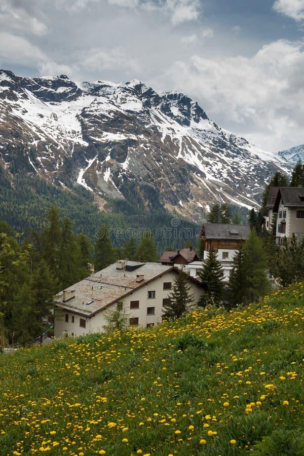 St. Moritz, Szwajcaria obrazy royalty free
