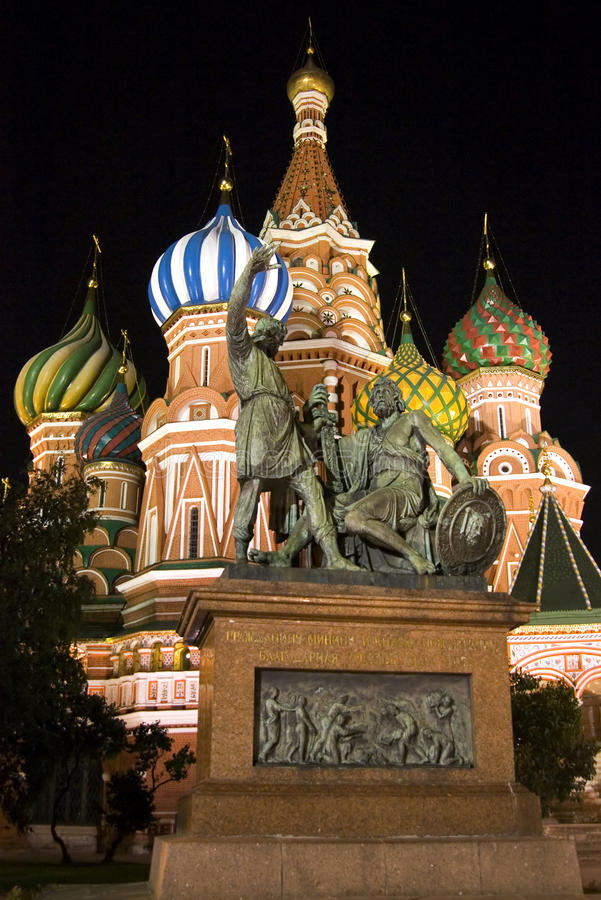 st moscow собора базилика стоковые фотографии rf
