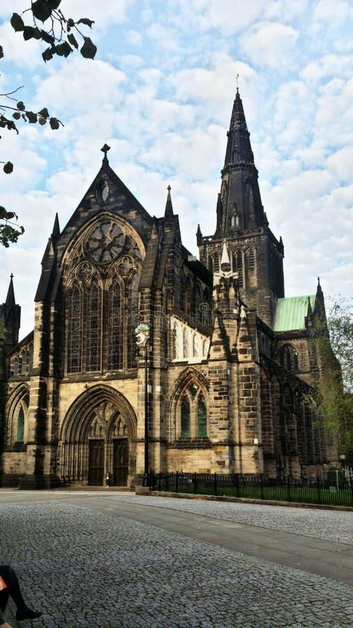 St Mungo& x27; s katedra, Glasgow zdjęcie stock