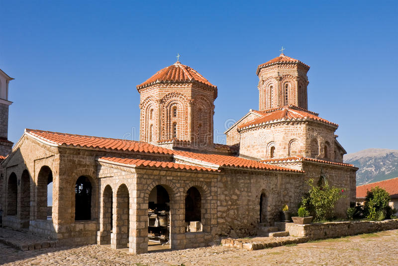 St. Naum Monastery royalty free stock images