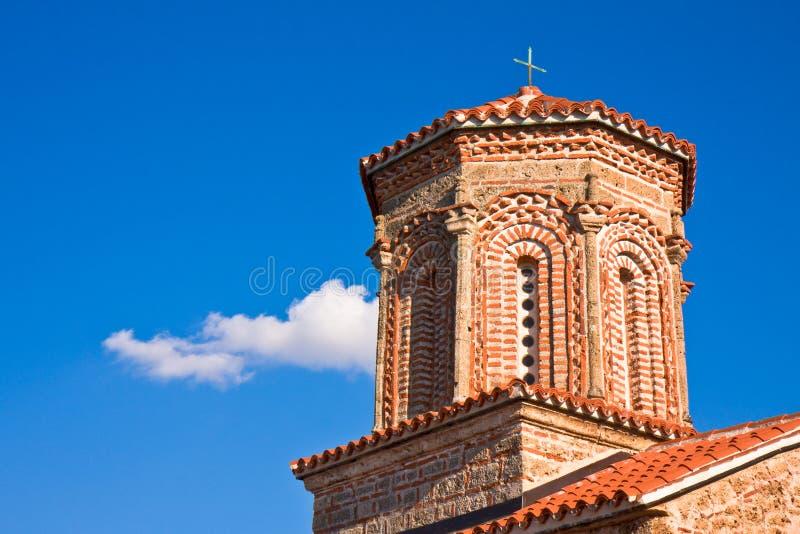 St. Naum Monastery Tower stock photo