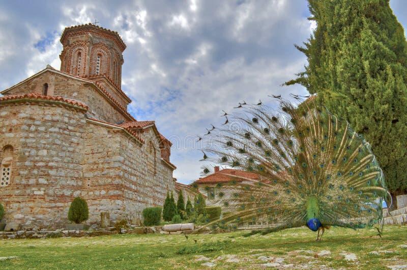 St Naum, Ocrida, Macedonia fotografia stock