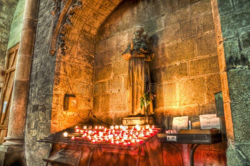 St Nazaire et St Celse à Carcassonne, France photo stock