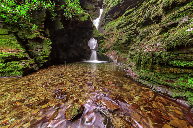 Download St Nectan's Glen, Tintagel, Cornwall. Stock Photo - Image: 24918554