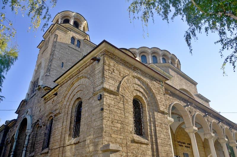 : St Nedelya Church stock photo