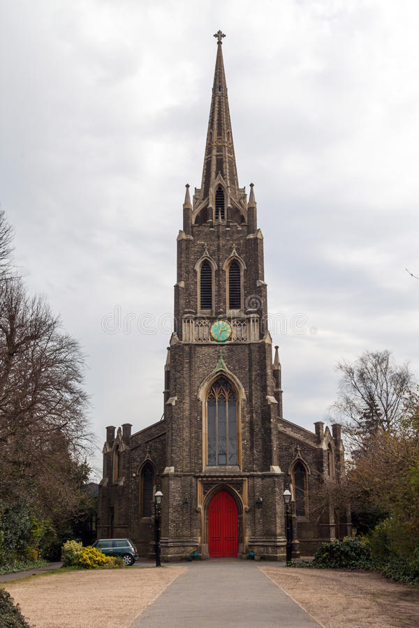 St neogotica Chiesa di Michael fotografie stock