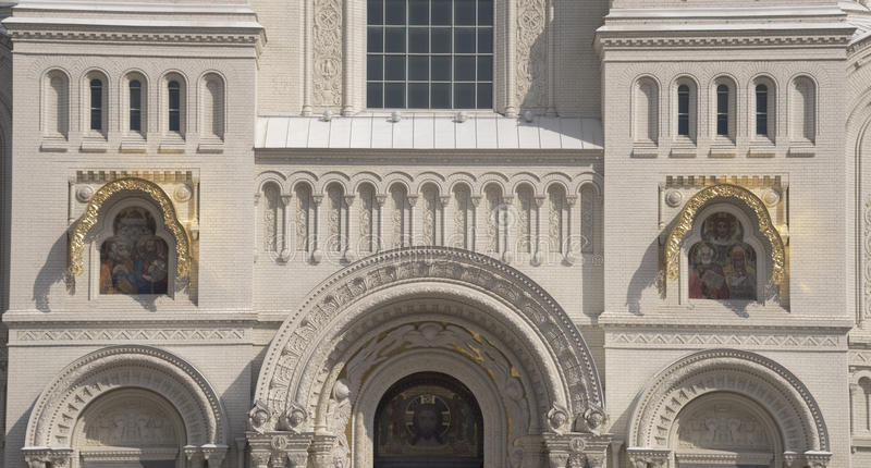 st nicholas собора военноморской стоковое изображение rf