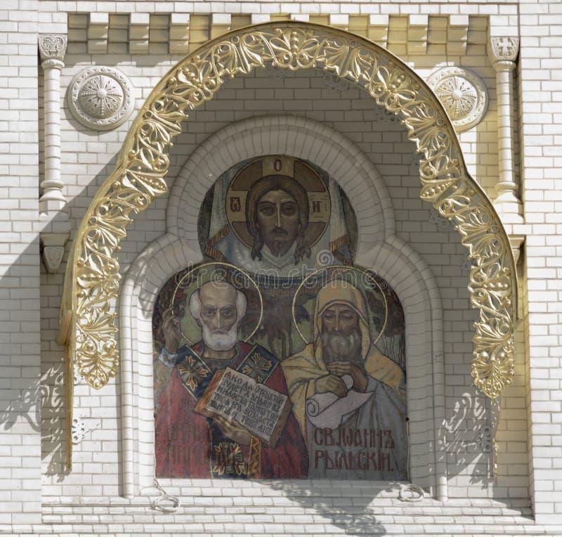 st nicholas собора военноморской стоковое фото rf