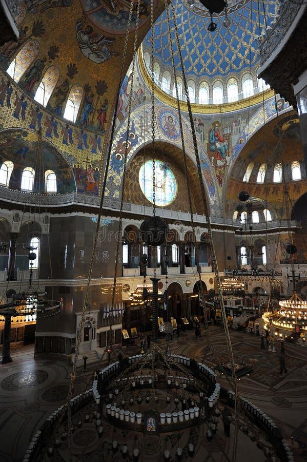 st nicholas собора военноморской стоковые изображения