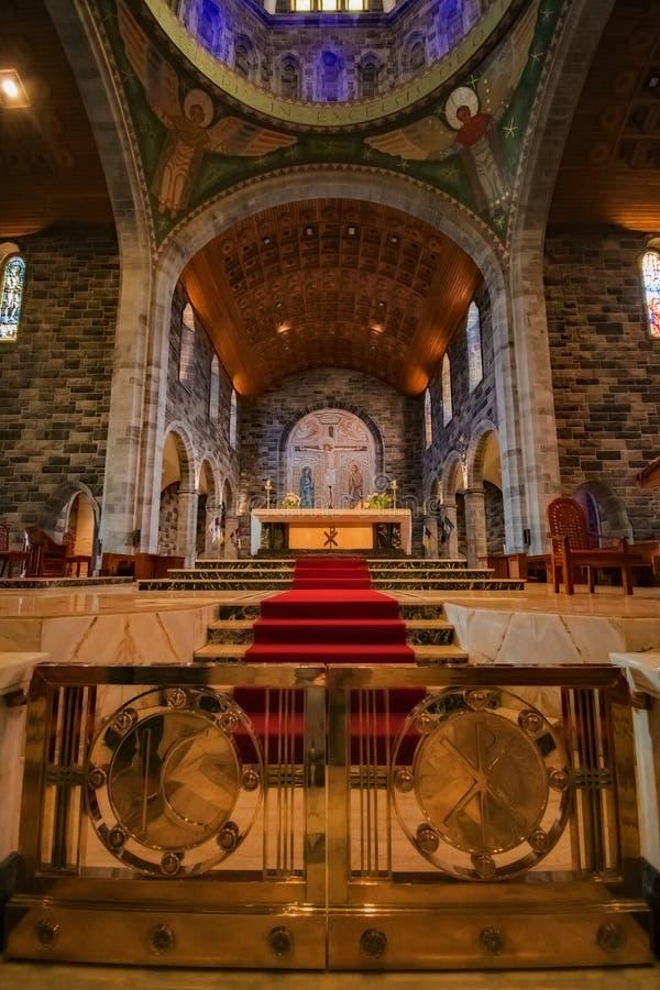 St Nicholas Altar Ireland immagine stock